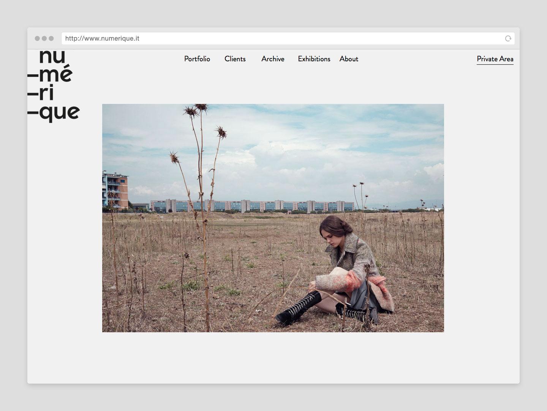 Numerique sito web - portfolio